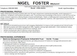 resume example pharmacist resume ixiplay free resume samples