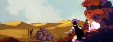 Teela And Evil Lyn - classic he man panoramas