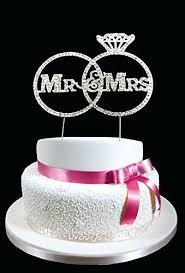 rhinestone cake toppers rhinestone cake toppers wedding topper and s with rings letter v