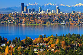 Washington scenery images Gorgeous autumn scenery bellevue washington royalty free stock jpg