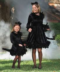 Girls Black Cat Halloween Costume 25 Mother Daughter Costumes Ideas Mother