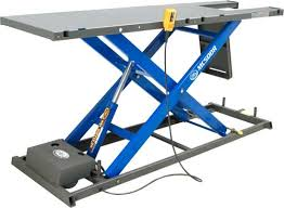 Motorcycle Lift Table by K And L Motorcycle Lift Tables