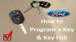 program ford focus key fob how to program a ford key and key fob