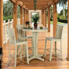 round bistro table set furniture add flexibility to your dining options using pub table