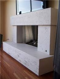 concrete fireplace surround my concrete pinterest concrete