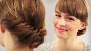 Kurze Haare Hochstecken Hochsteckfrisurenen by Schulterlange Haare Zopf