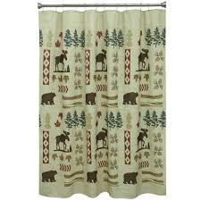 Fishing Shower Curtain Moose Shower Curtain At Black Forest Decor