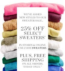 j crew sale news new sweaters on sale free shipping on all