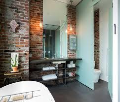 industrial bathroom ideas bathroom industrial with concrete wall
