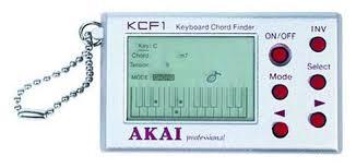 electronic finder akai kcf1 keyboard chord finder musical instruments