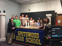 spotswood high u0027s tv production iii class gets real world