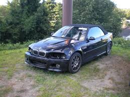 2002 bmw m3 smg e46 fs parting out 2002 m3 convertible smg carbon black on black
