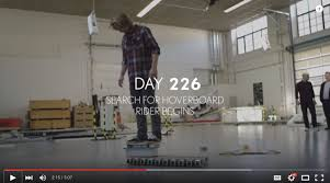 lexus hoverboard in action pick of the week the lexus hoverboard an explainer