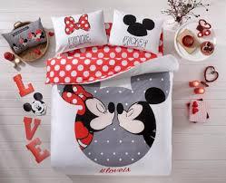 Mickey Mouse Queen Size Bedding Amazon Com 100 Cotton Comforter Set 5 Pcs Full Queen Size Disney