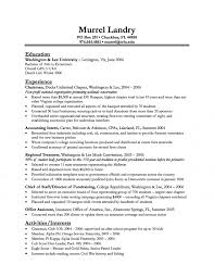Samples Of Resumes For College Students by Resume Entry Level New Grad