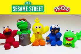 meet play doh sesame street characters u0026 friends