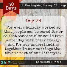 marriage gratitude 28 working the holidays firefighter
