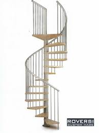 corrimano pvc scala a chiocciola con gradini in legno e corrimano pvc moon il