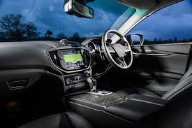 2015 Maserati Ghibli Interior Review Maserati Ghibli
