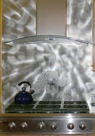 kitchen backsplash silver backsplash back splash tile metal