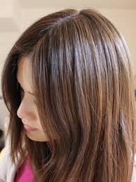 aveda brown highlights on black hair roots probably a more