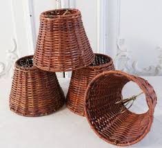 wicker chandelier with lamp shades very awesome lamp shade