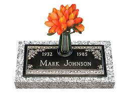 Cemetery Vases Bronze Single Bronze Grave Markers Lovemarkers Com