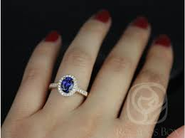 oval sapphire engagement rings rosados box 8x6mm limited edition 14kt gold engraved