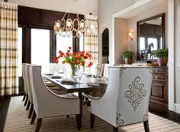 Hamptons Inspired Luxury Dining Room  Before And After - Luxury dining rooms