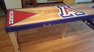 fold up beer pong table custom beer pong tables aca custom woodworking