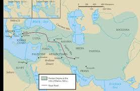 Persia Map Persia And Alexander