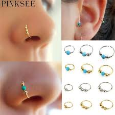 lip rings com images 5pcs lot fake lip ring c clip nose ring ear piercing noses rings jpg