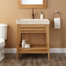 Open Shelf Bathroom Vanity Furniture Charming Open Shelf Bathroom Vanity Ideas Estate