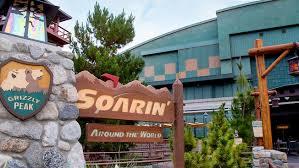 map of california adventure soarin disneyland resort