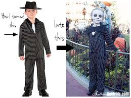 Jack Pumpkin King Halloween Costume Walmart Gangster Turned Jack Skellington Halloween Costume