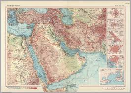 West Asia Map by South West Asia Pergamon World Atlas David Rumsey Historical