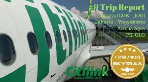 citilink trip 4 star low cost airlines 9 trip report citilink jakarta