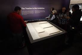 si e du s at smithsonian on the medicine creek treaty of 1854 recently