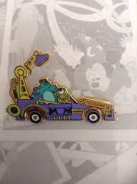 parade pins disney pin mgm and motor cars parade monsters inc disney
