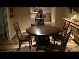 Paula Deen Dining Room Paula Deen Down Home Round Oval Pedestal Breakfast Dining Table