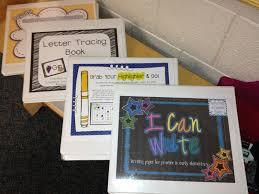kindergarten writing center sssteaching