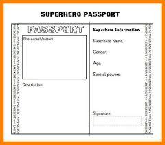 passport template cvresume unicloud pl
