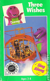 barney three wishes vhscollector com your analog videotape archive