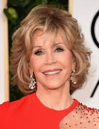 jane fonda short wavy cut short hairstyles lookbook stylebistro