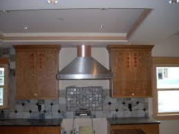 metal kitchen exhaust hood — home ideas collection installing