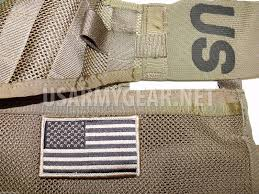 Military Flag Patch New Coyote Us Army American Flag Military Uniform Velcro Patch