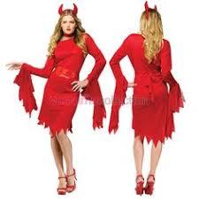 Halloween Costumes Devil Woman Devil Bettie Red Womens Halloween Costume
