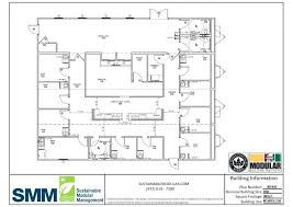 Security Floor Plan Sample Floor Plans Sustainable Modular Management Inc Security