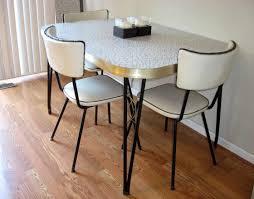 vintage mid century modern table modern black leather upholstered