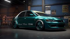 lancer mitsubishi 2007 need for speed payback build of the week 4 u2013 mitsubishi lancer